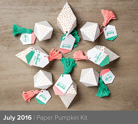 Paper Pumpkin July 2016