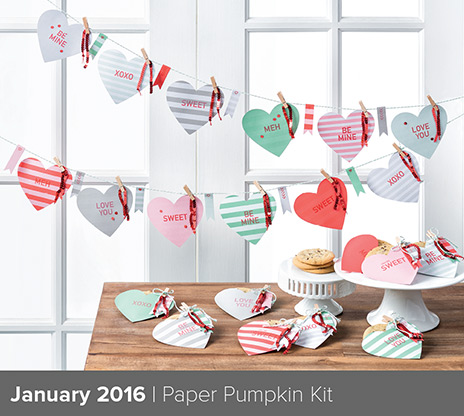 Paper Pumpkin January 2016