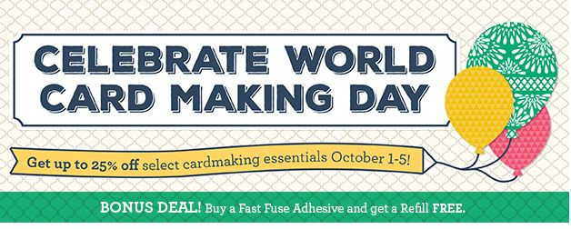 Celebrate World Card Making Day Stampin' Up! Specials