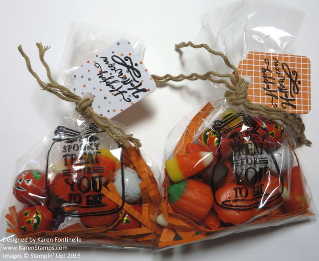 Cello Halloween Jar of Haunts Candy Treat Bags