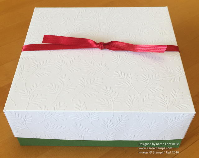 Handmade Box Embossed Paper