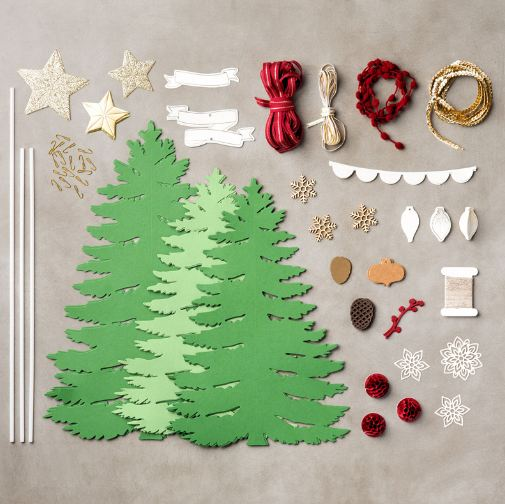 Stampin' Up! Christmas Trees Kit Contents