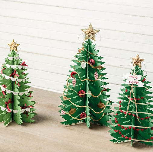 Stampin' Up! Paper Christmas Trees Kit