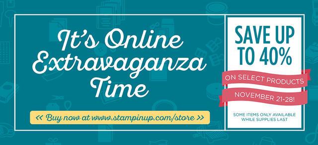 Stampin' Up! Online Extravaganza 2016