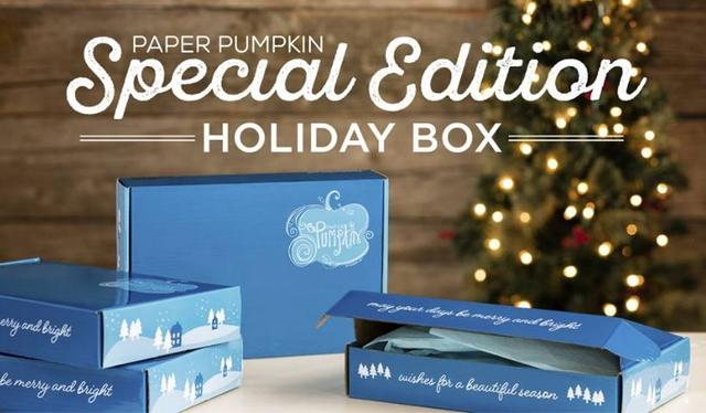 Stampin' Up! Paper Pumpkin Special Edition Holiday Box