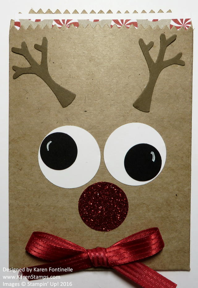 Rudolph the Red-Nosed Reindeer Mini Treat Bag