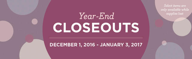Year End Closeout 2016 Banner
