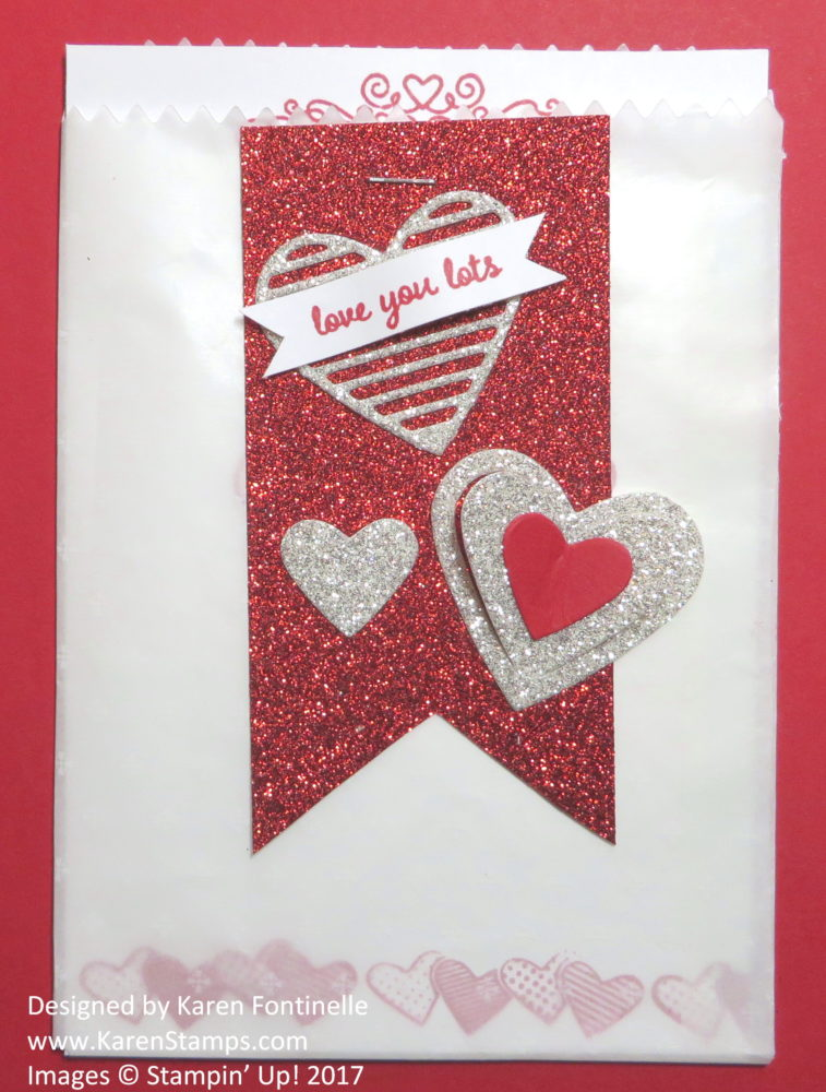 A Valentine Mini Treat Bag