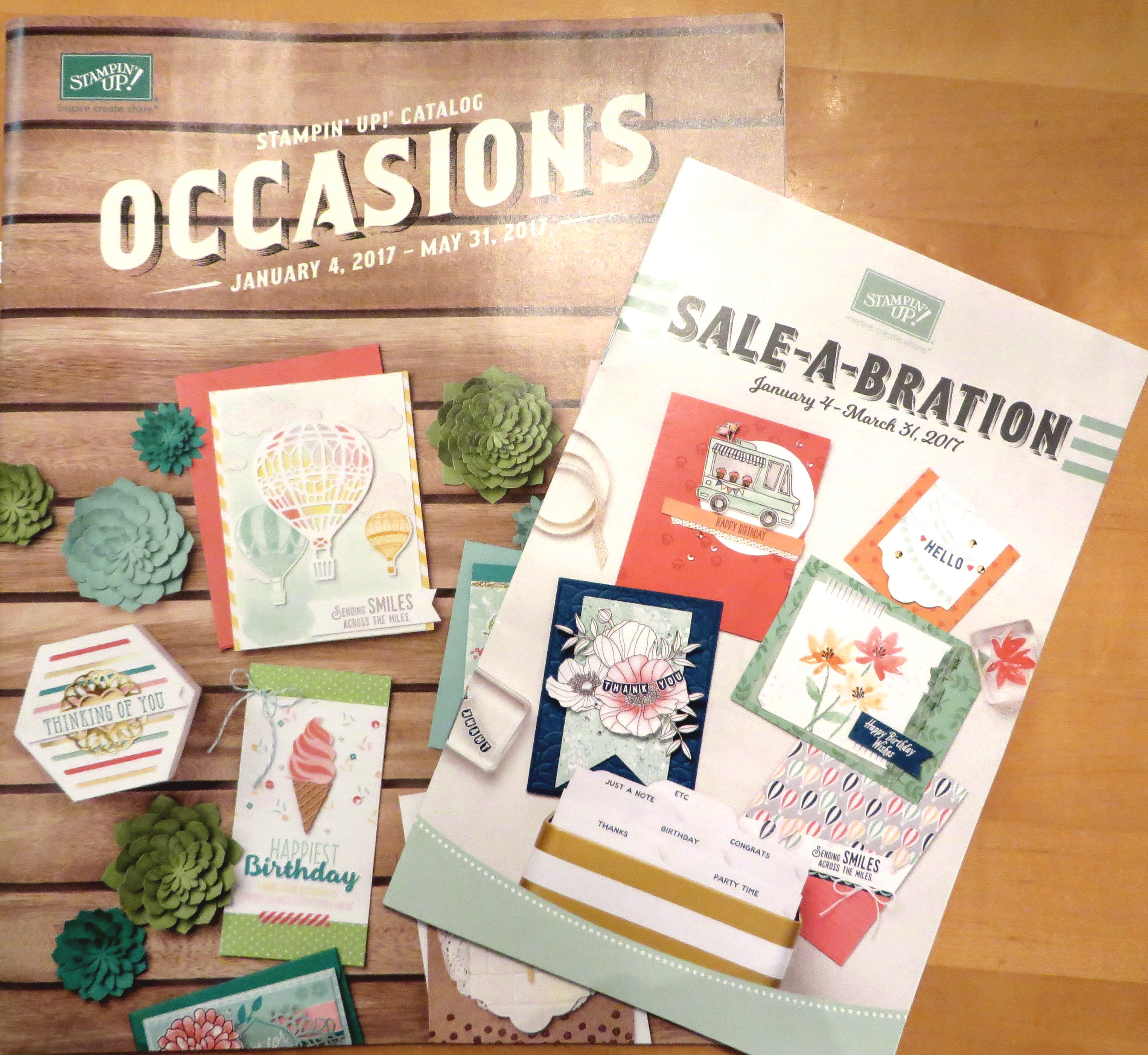 Occasions and Sale-A-Bration Catalogs