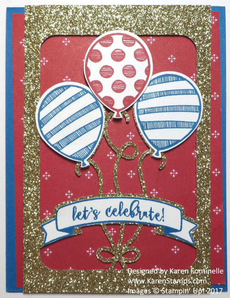 Red White and Blue Patriotic Card for Inauguration Day