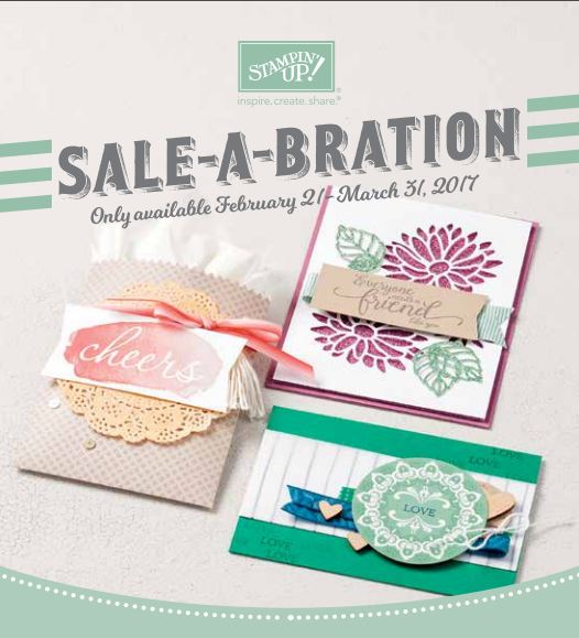 New Sale-A-Bration Choices 2017