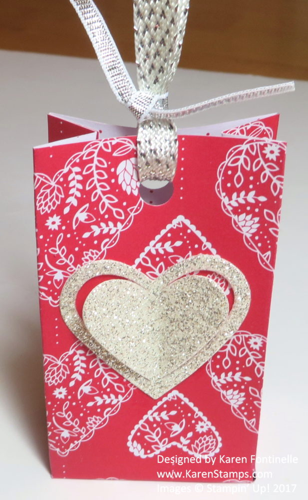 Valentine Sending Love Small Treat Bag