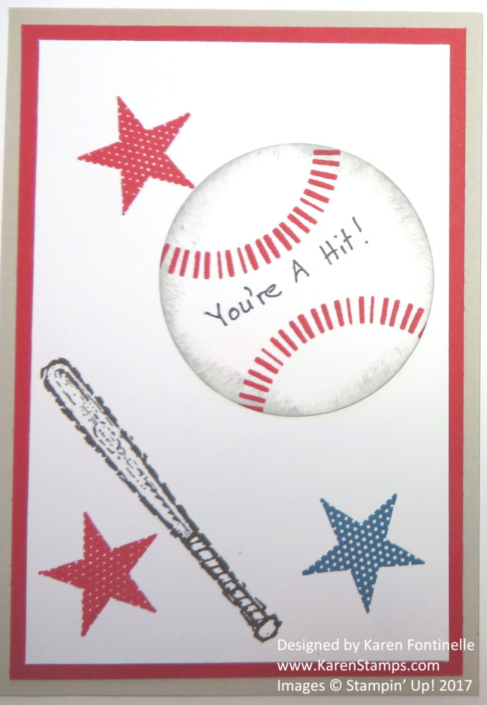 You're A Hit Baseball Valentine