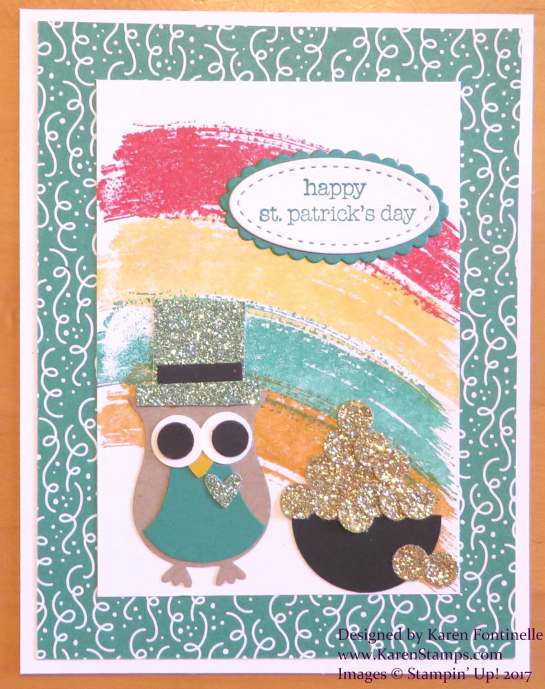 A Fun St. Patrick's Day Card Idea