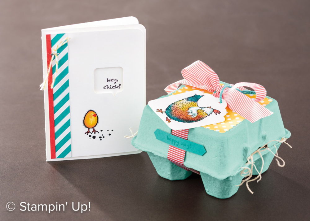 Hey, Chick Mini Egg Carton