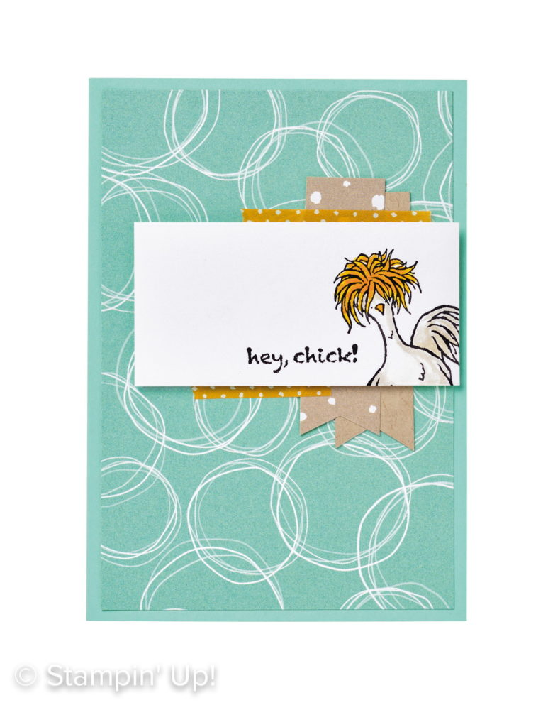 Hey, Chick Easy Card