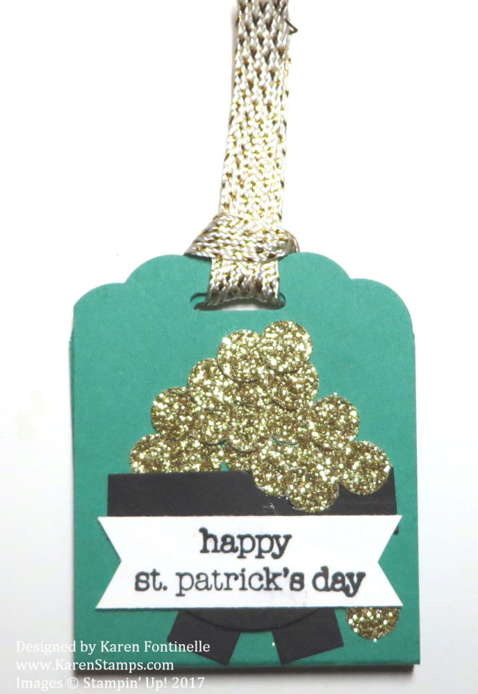 St. Patrick's Day Easy Candy Treat Holder