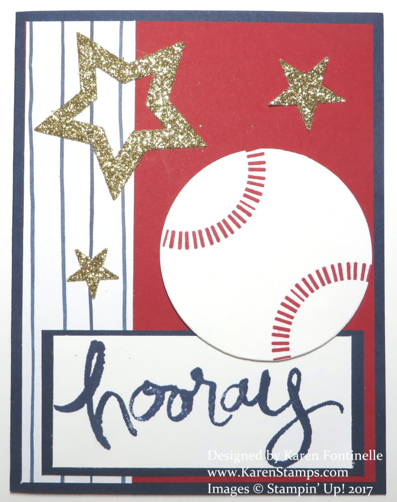 Baseball Opening Day Card for Baseball Fans