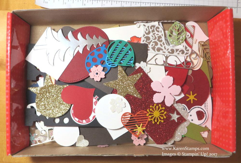 Box of Paper Scraps