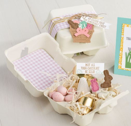 Decorated Egg Cartons Stampin' Up!
