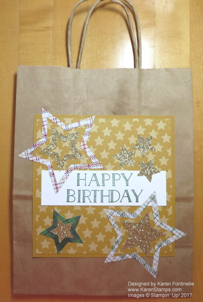 Make a Birthday Gift Bag