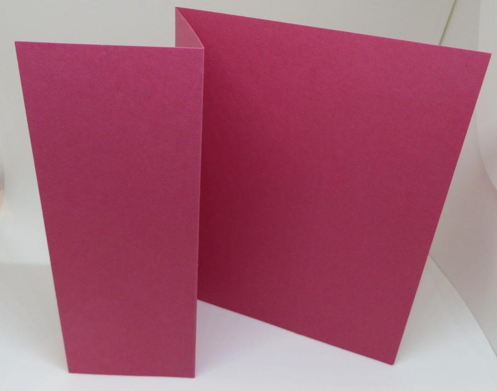 Z Fold Plain Card
