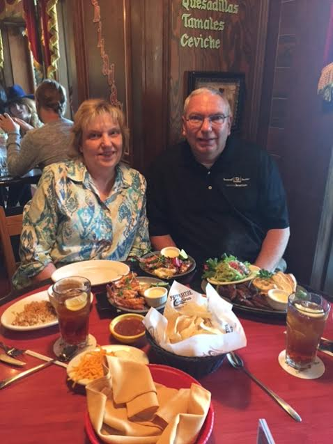 Karen & John at Pappasito's
