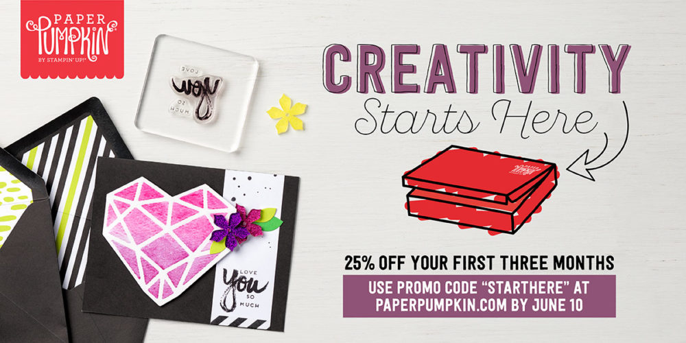 Paper Pumpkin Promotion May June 2017