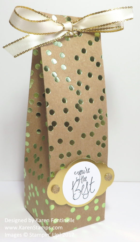 2 4 6 8 Box With Foil Frenzy Paper
