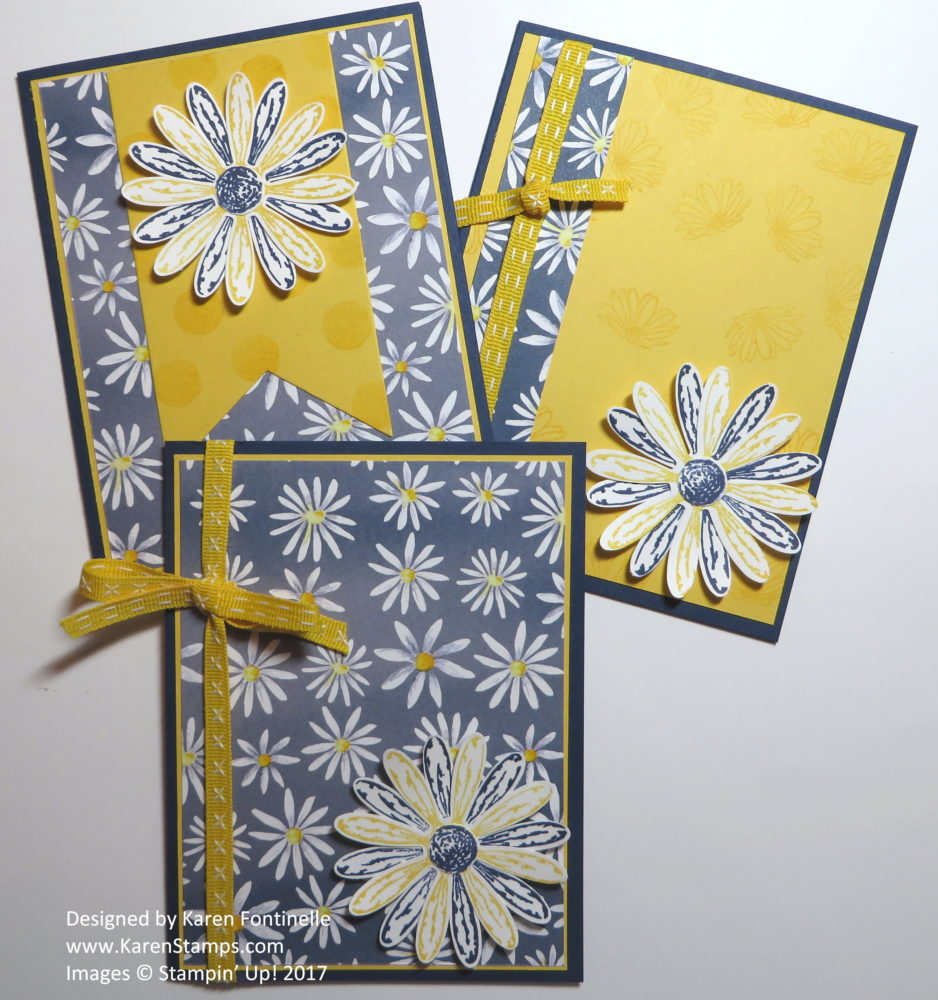 Easy All-Occasion Daisy Cards