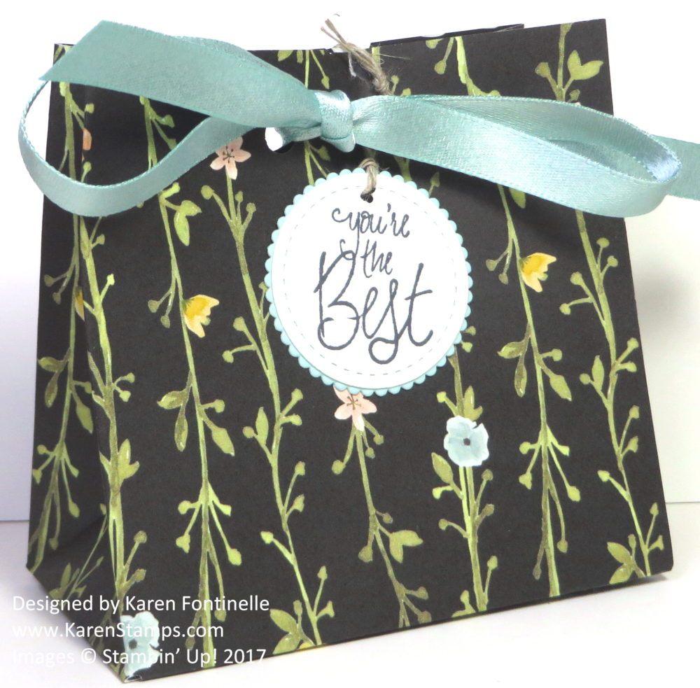 Make Your Own Gift Bag With the Gift Bag Punch Board