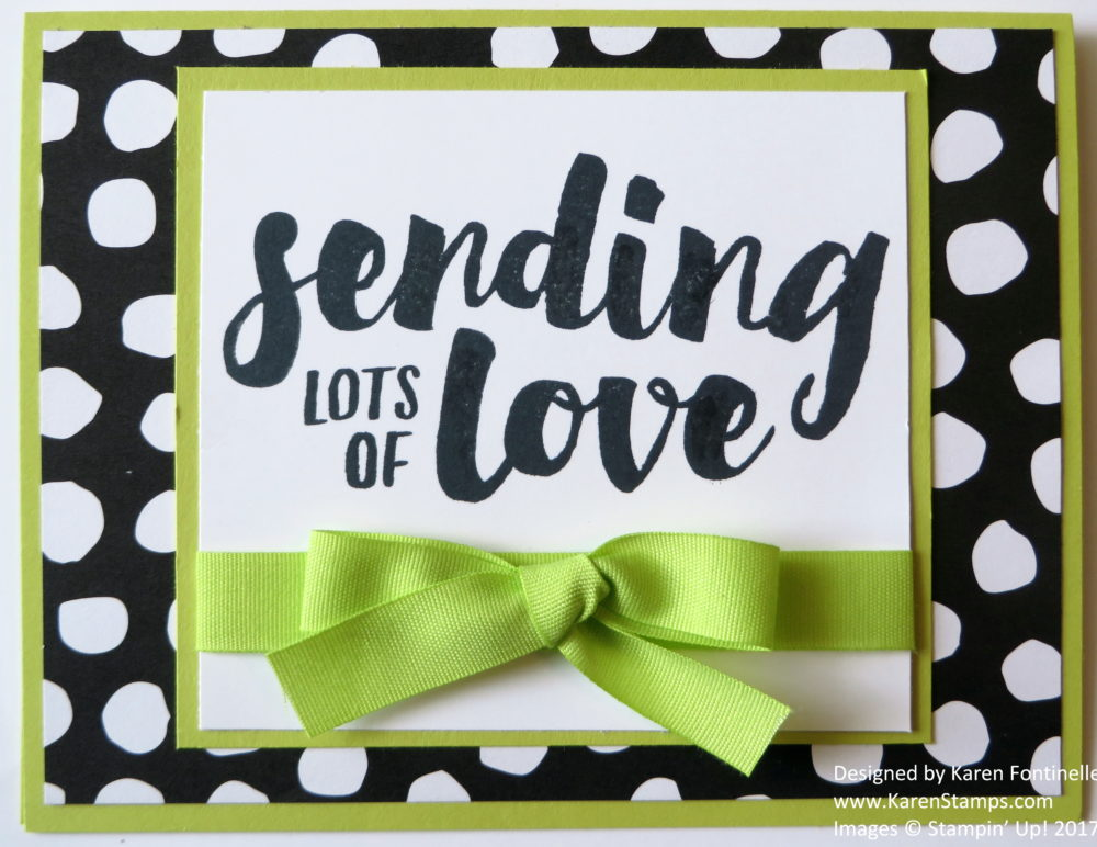 Make a Bold Bright Card For Any Occasion