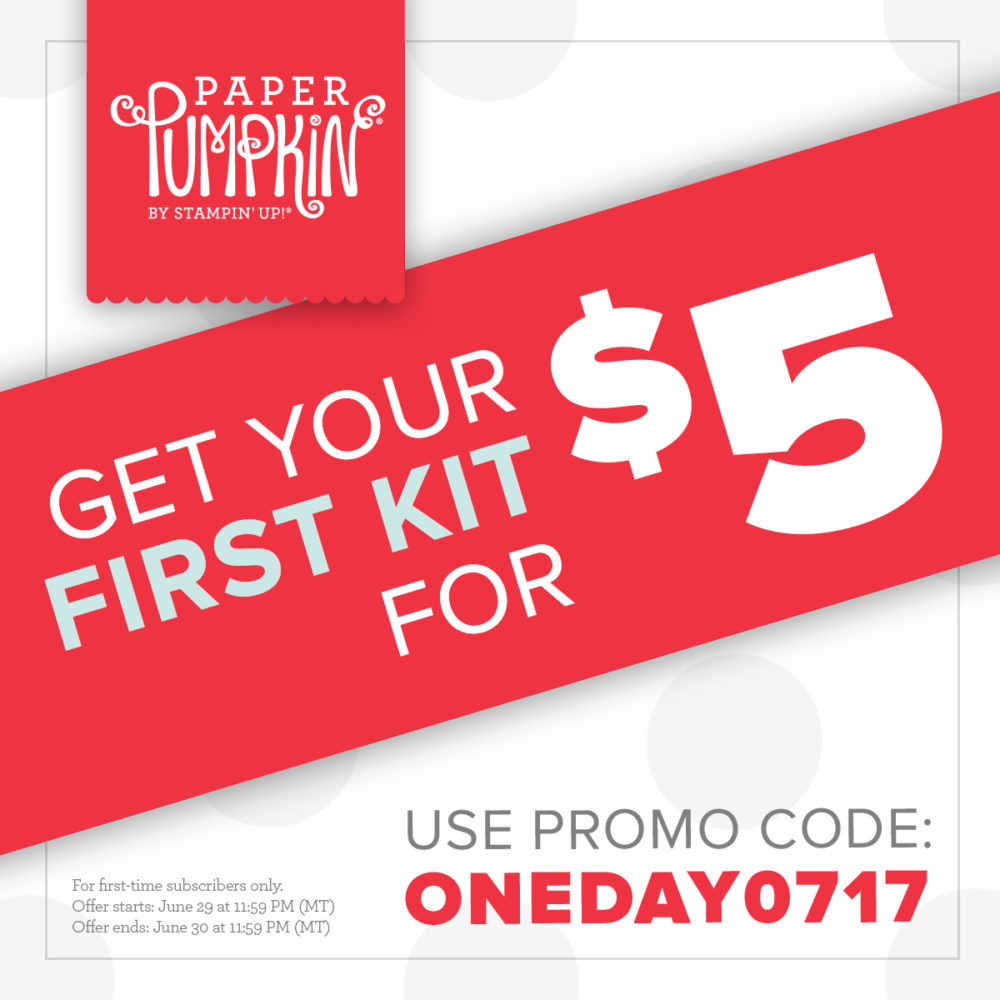Paper Pumpkin One Day Deal For New Subscribers