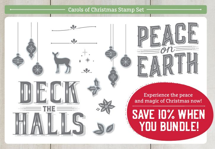 Carols of Christmas Stamp Set Images
