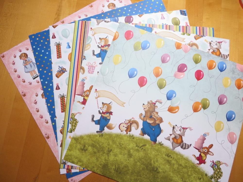 Birthday Memories Designer Series Paper
