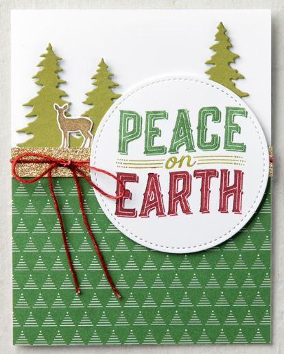 Carols of Christmas Card Peace on Earth