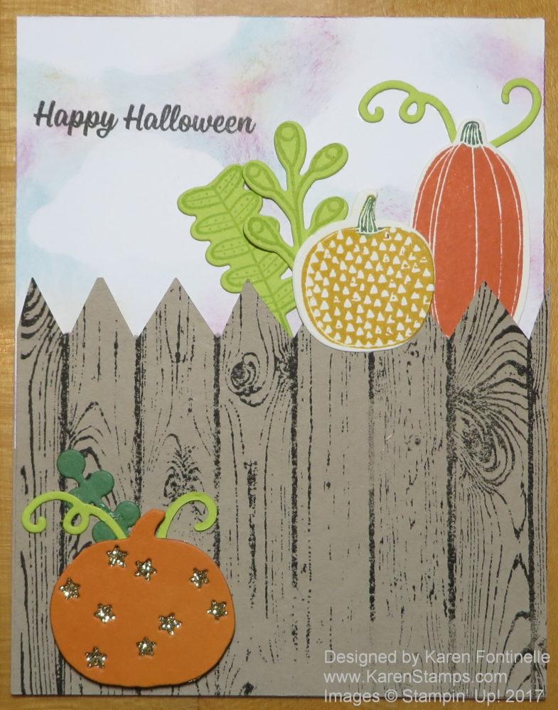 Happy Halloween Pick a Pumpkin Card
