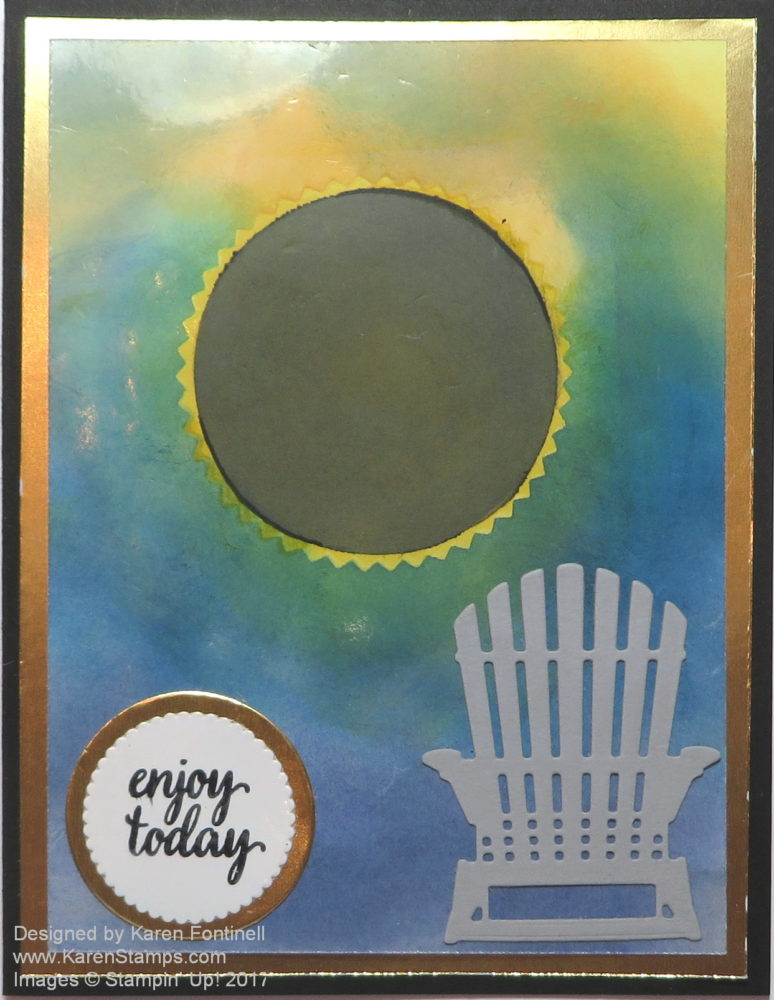 Total Solar Eclipse of the Sun Greeting Card August 21, 2017
