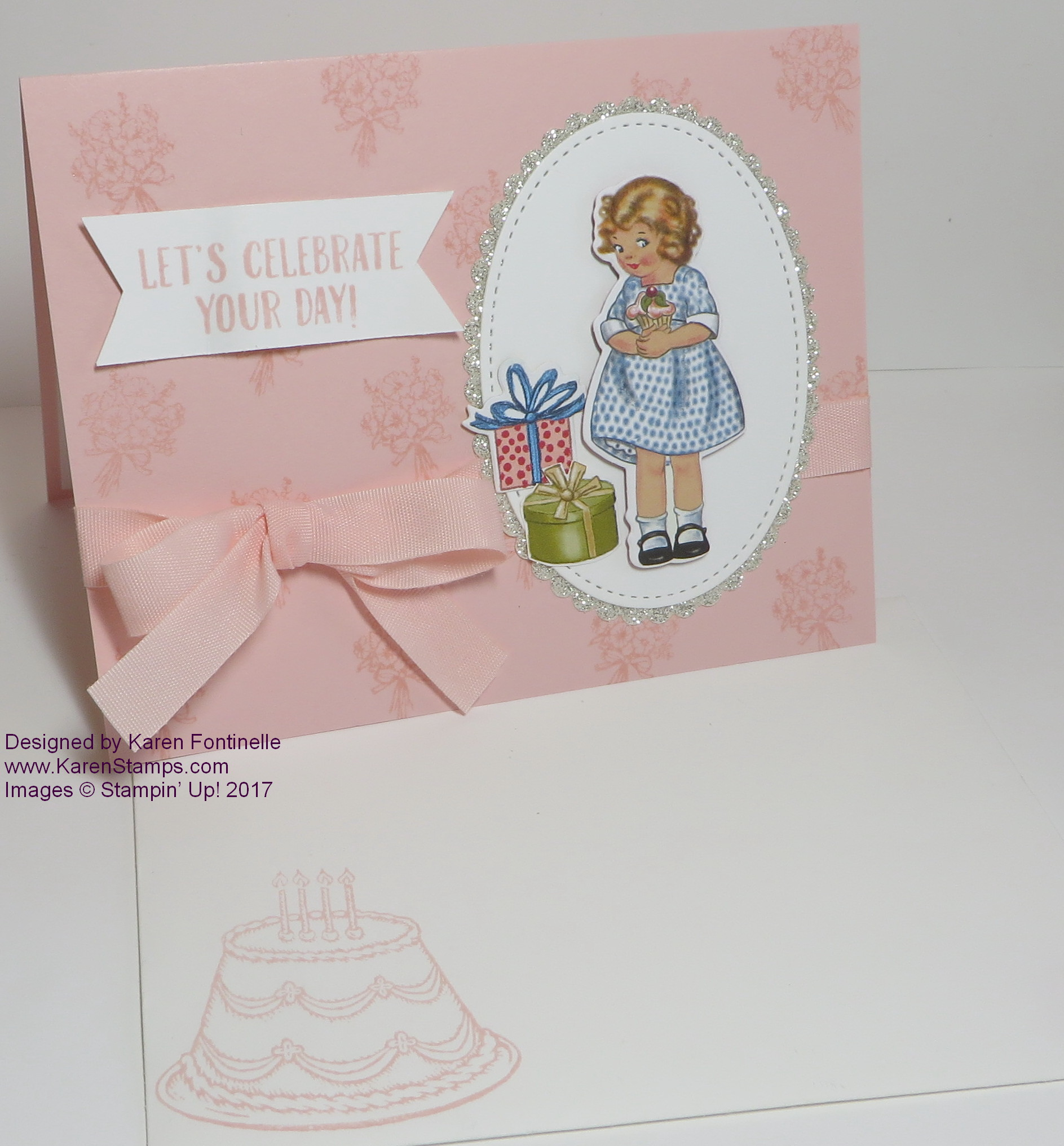 Nostalgic Birthday Card with Birthday Memories