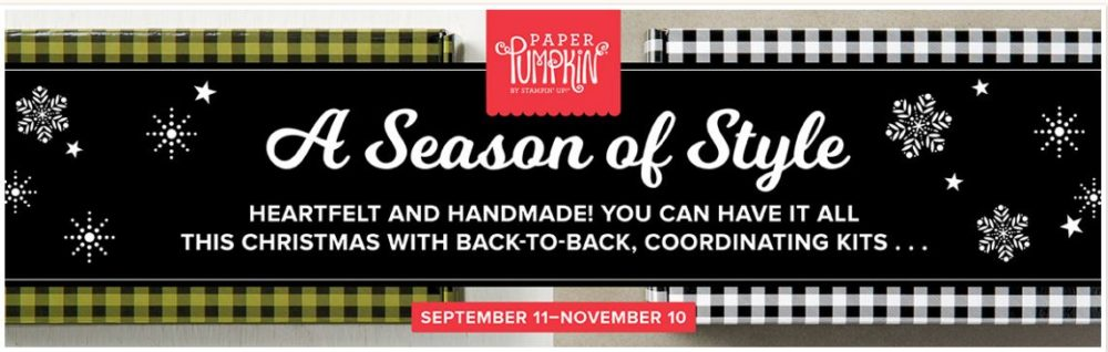 Paper Pumpkin Season of Style Banner