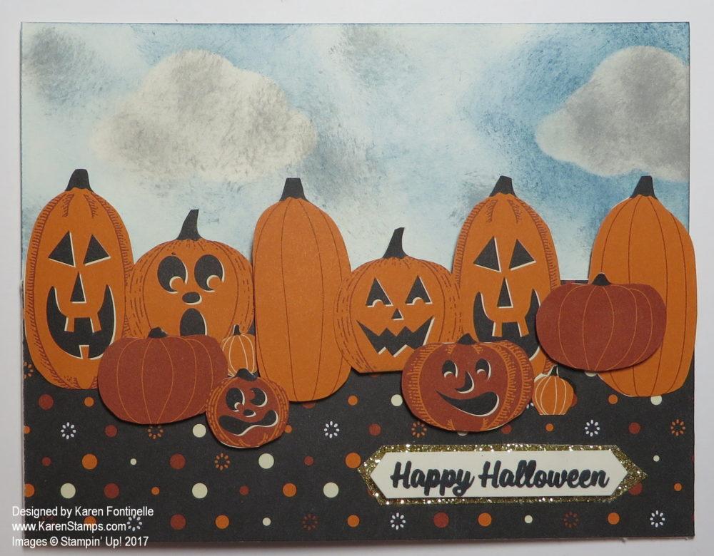 Pumpkins Halloween Card