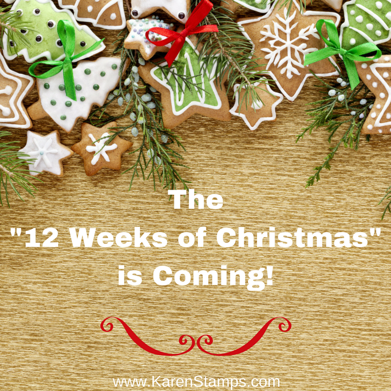 "The ""12 Weeks of Christmas"" is Coming!"
