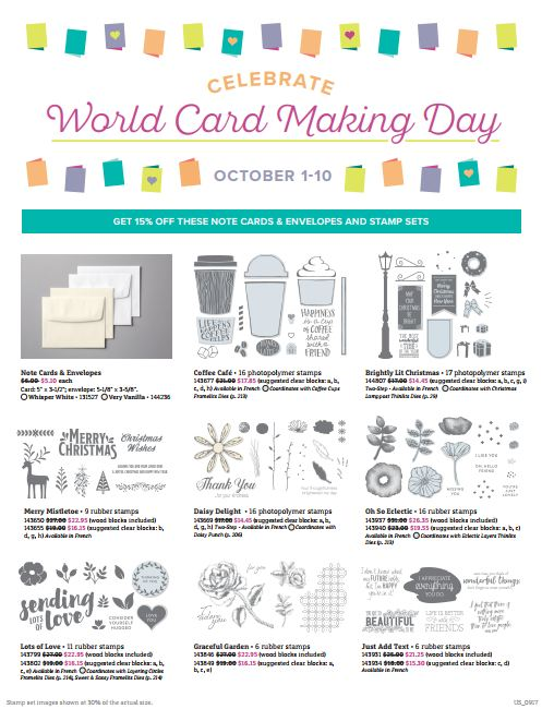 World Cardmaking Day page1