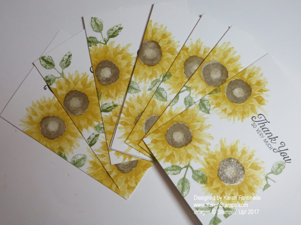 Painted Harvest Note cards