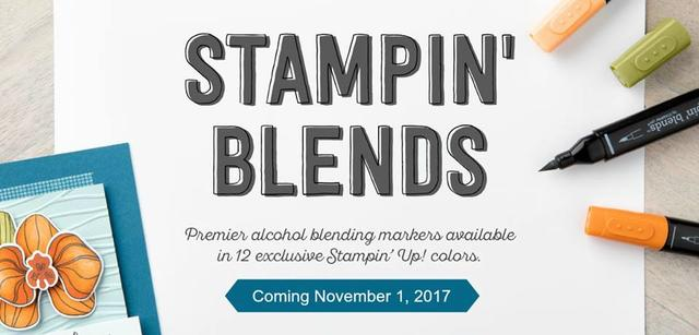Stampin Blends Are Coming