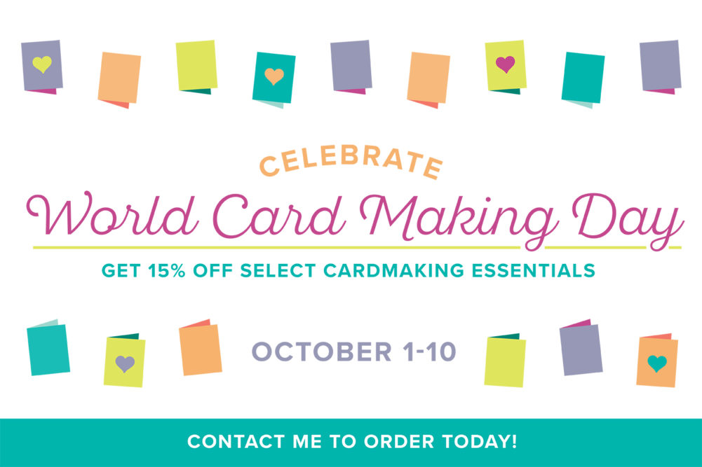 World Cardmaking Day Shareable 2017