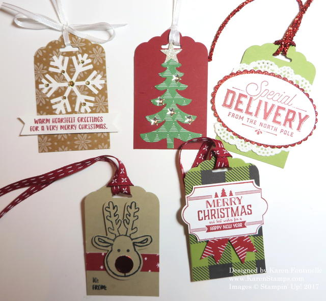 Christmas Tags to Make
