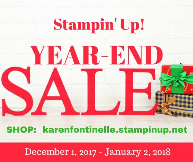 Stampin' Up! Year-End Sale