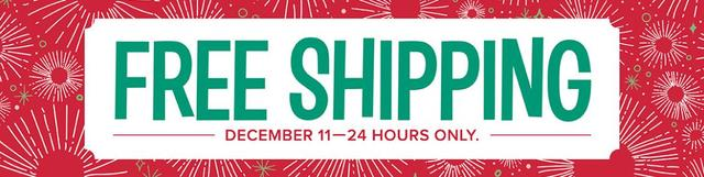 Free Shipping Coming December 11 2017