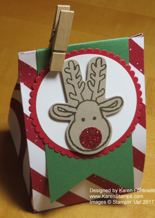 Reindeer Small Treat Bag